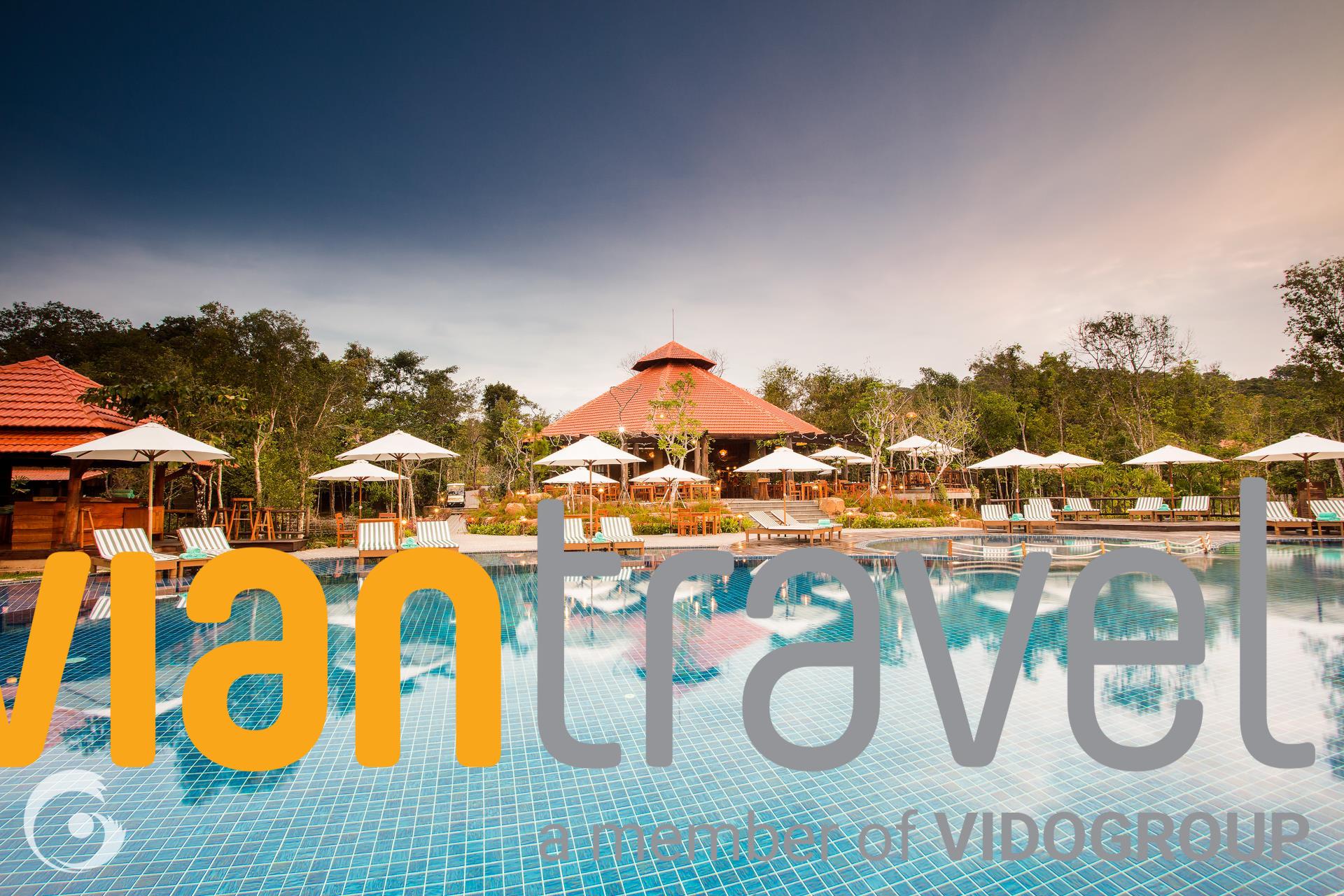 Combo 3N2D Vé Máy Bay Khứ Hồi +  Green Bay Phú Quốc Resort 4* - Khởi hành từ TP. HỒ CHÍ MINH